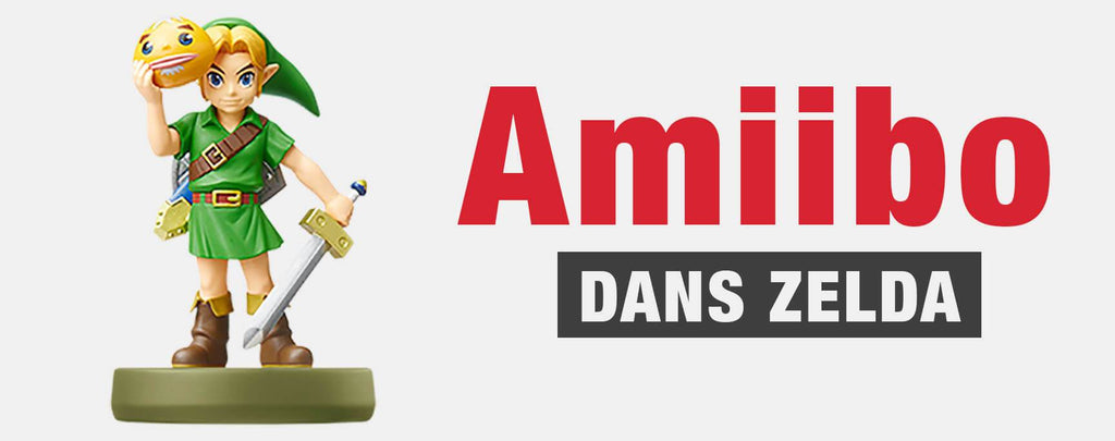 Les Amiibos dans Zelda: Breath Of The Wild