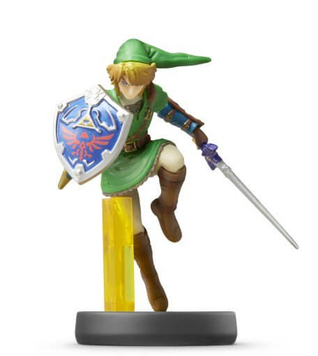 amiibo link smash bros