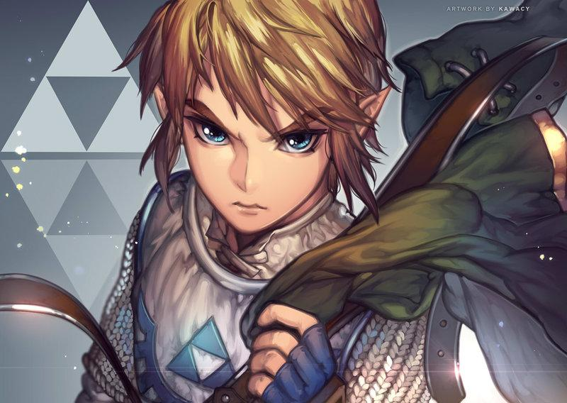 badass link fan art