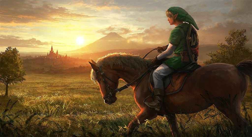 epona et link fan art