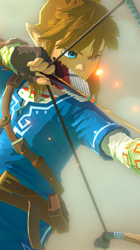 fond d écran zelda breath of the wild telephone