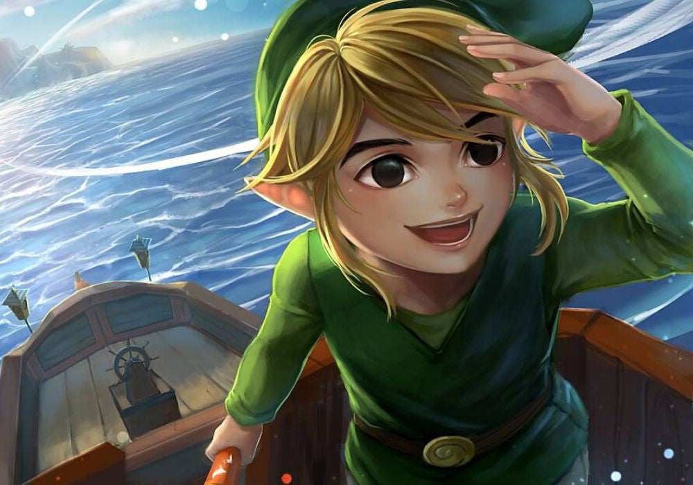 link fan art wind waker
