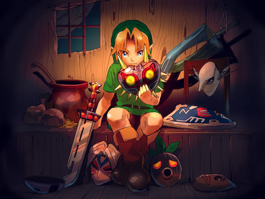 legend of zelda majora's mask fan art