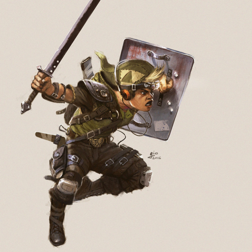 militaire link fan art
