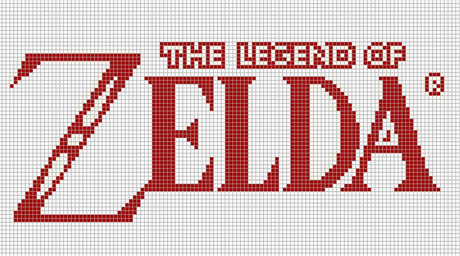 pixel art the legend of zelda