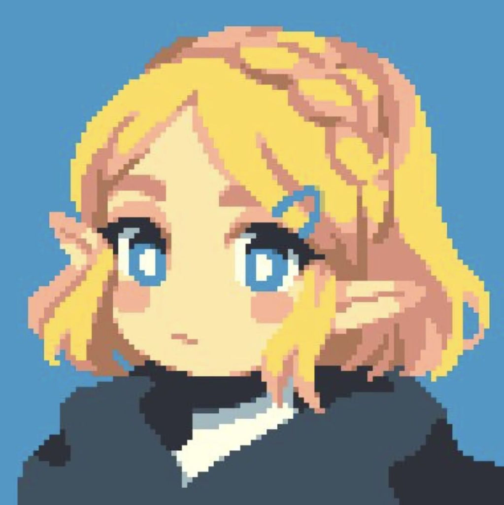 princess zelda pixel art breath of the wild 2
