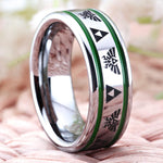 bague triforce courage