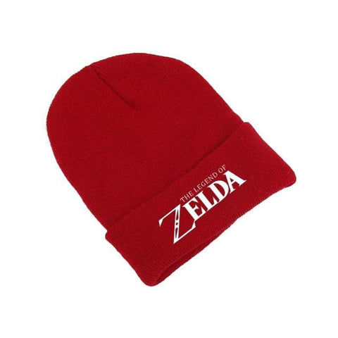 bonnet legende de zelda rouge