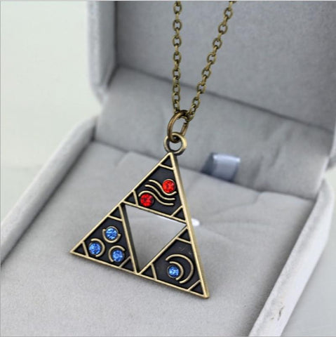 collier zelda triforce