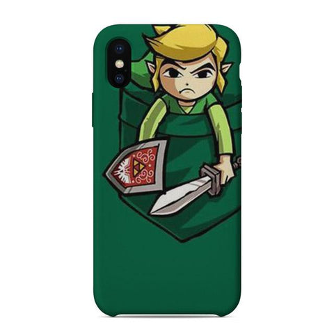 coque iphone link zelda