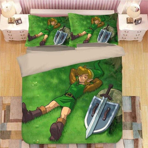 housse couette forêt hyrule