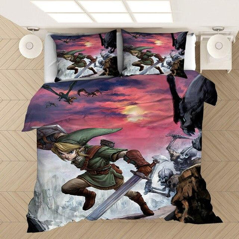 housse de couette zelda twilight princess