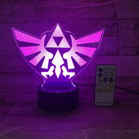 lampe triforce royal led