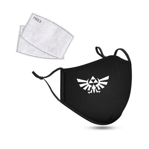 Masque de Protection Zelda <br>Symbole Royal