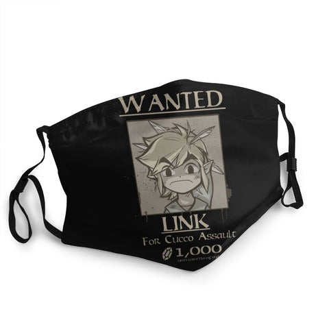 masque de protection zelda wanted link