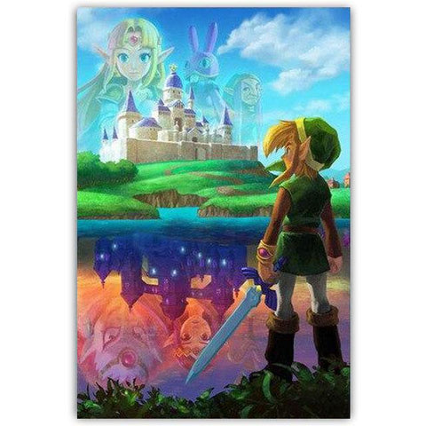 poster A Link Between Worlds