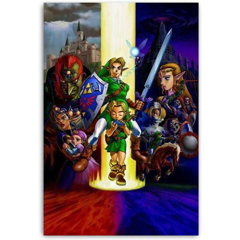 poster ocarina of time