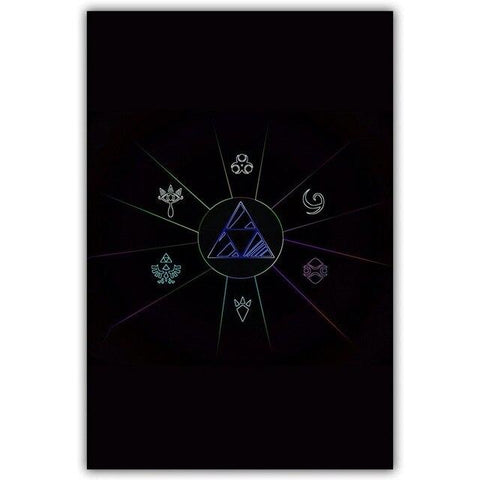 poster enigme triforce