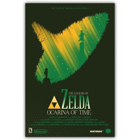poster ocarina of time n64