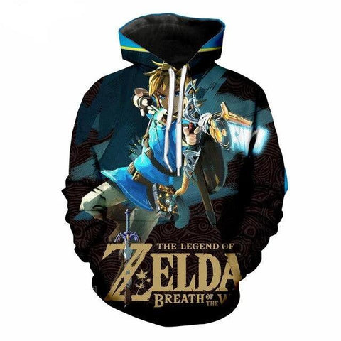 sweat jeu breath of the wild