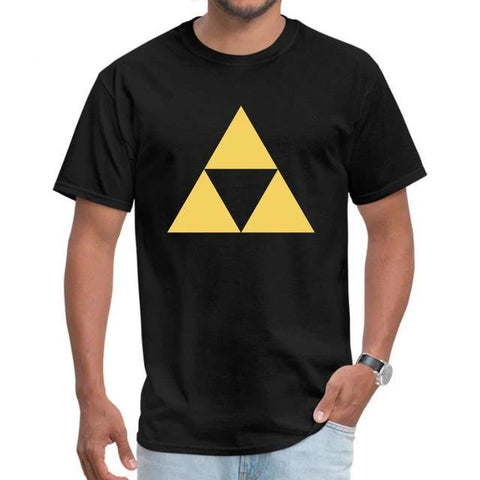 t shirt triangle or zelda
