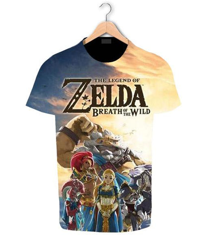 t shirt prodiges breath of the wild