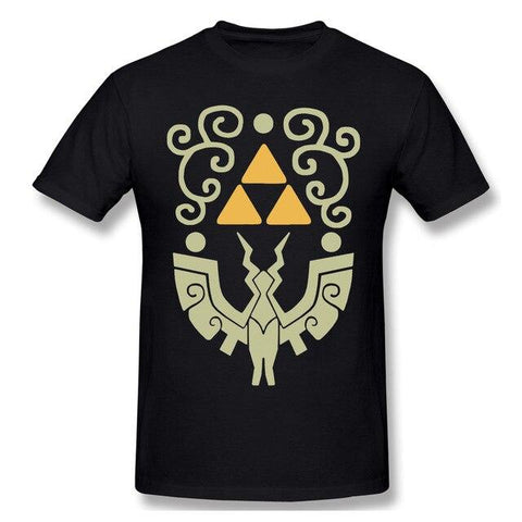 t shirt zelda wind waker shield