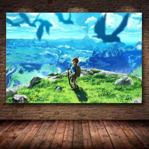 tableau jeu breath of the wild