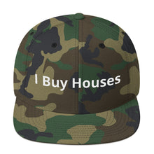 "Adjustable Size Snap Back ""I Buy Houses Hat"" by @ChrisMonroeSTL"