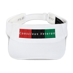 RBG Conscious Veteran Adjustable Sun Visor Hat