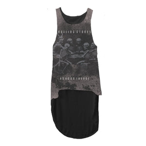 Rolling Stones Voodoo - Womens Black Tank Top