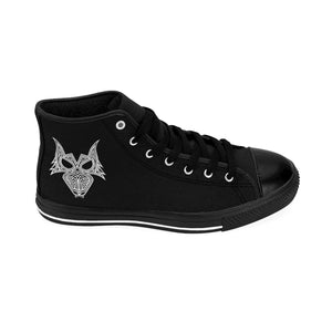 Darewolf Men's High-top Sneakers (Black)