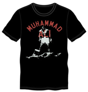 Muhammad Ali Men's Black Tee - The greatest boxer