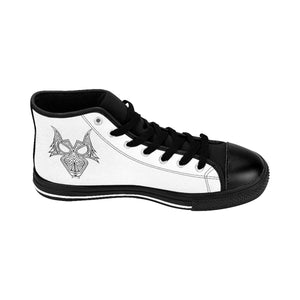 Darewolf Men's High-top Sneakers (White)