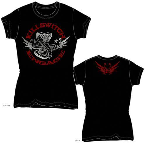 Killswitch Engage Cobra Kai - Womens Black T-Shirt