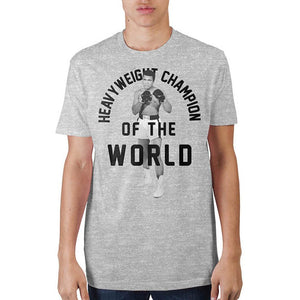 Muhammad Ali Heather T-Shirt