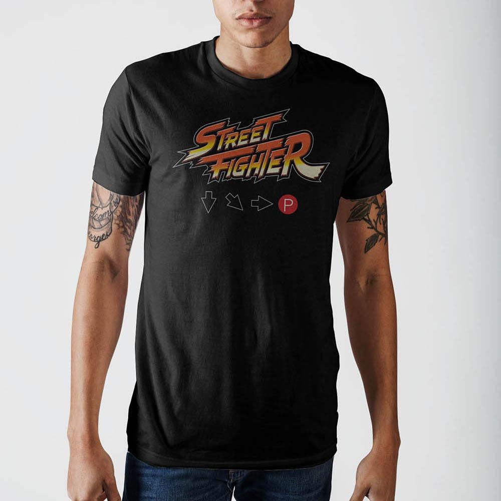Street Fighter Logo Hadouken T-Shirt