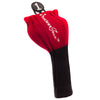 Driver and Fairway Headcovers clubs - Red / Black