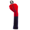 Driver and Fairway Headcovers - Red / Navy