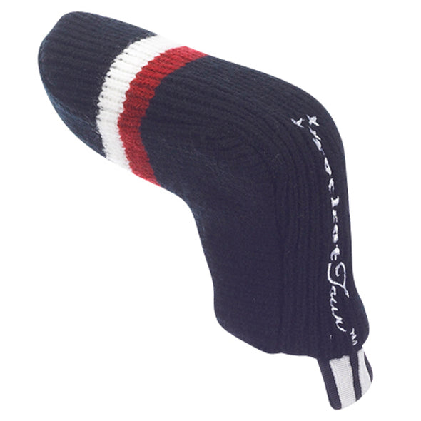 Victory Stripe Putter Headcovers - Black / Red