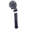 Rugby Stripe Pom Pom Headcovers - Navy / White