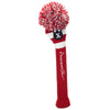 Rugby Stripe Pom Pom Headcovers - Red / White