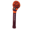 Rugby Stripe Pom Pom Headcovers - Maroon / Orange