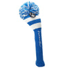 Rugby Stripe Pom Pom Headcover - Royal / White