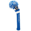 Rugby Stripe Pom Pom Headcovers - Royal / White