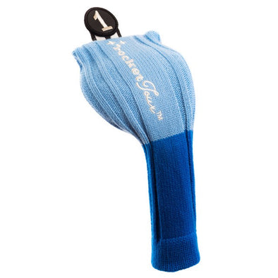 Driver and Fairway Headcovers clubs - Royal - Light Blue