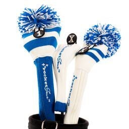 Golf Headcovers Gift Set Blue