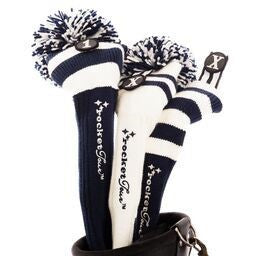 Headcovers Gift Set #8 Navy and White