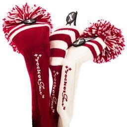 Headcovers Gift Set #8 Red and White