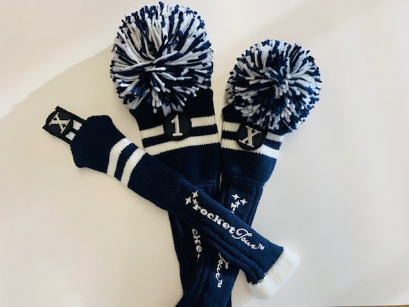 Gift Set - Two Stripe in Navy & White